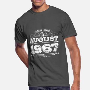 1967 Present Established in August 1967 Present - Men's 50/50 T-Shirt