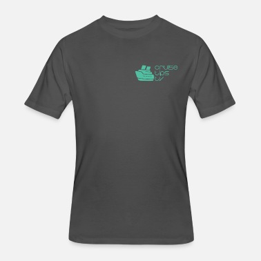 Breast Boats CruiseTipsTV Logo Mike's Way - Men's 50/50 T-Shirt