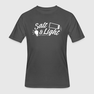 Salt & Light - Men's 50/50 T-Shirt
