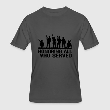 5 Day Veterans Day Honoring all Who served - Men's 50/50 T-Shirt