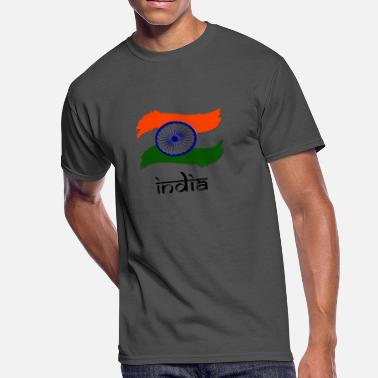 Flag Indian Indian Flag - Men's 50/50 T-Shirt