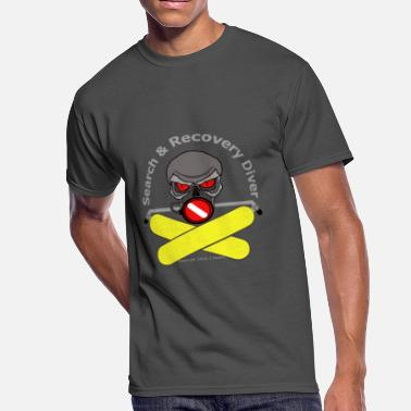 Police Diver Search And Recovery Diver Yellow Bottles - Men's 50/50 T-Shirt