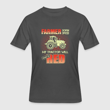 Red Farmer Farmer Shirt - Men's 50/50 T-Shirt