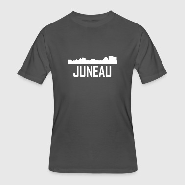 Juneau Alaska City Skyline - Men's 50/50 T-Shirt
