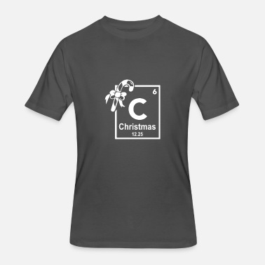 Periodic Elements Christmas Periodic Table Of Elements - Men's 50/50 T-Shirt