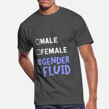 Lesbian Male Male Female Gender Fluid - Men's 50/50 T-Shirt