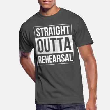 Theatre Straight Outta Rehearsal Theatre - Men's 50/50 T-Shirt