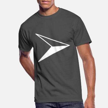 Symcolic Compass east arrow white - Men's 50/50 T-Shirt