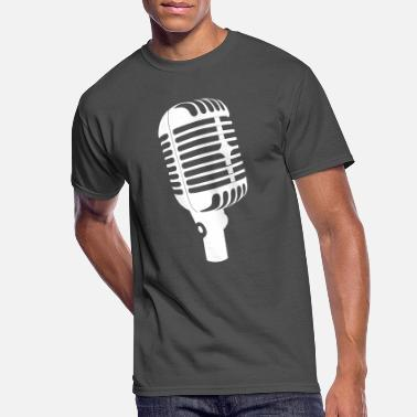 Microphone Microphone - Men's 50/50 T-Shirt
