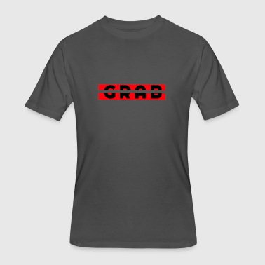 GRAB RED COLOR FUNNY - Men's 50/50 T-Shirt