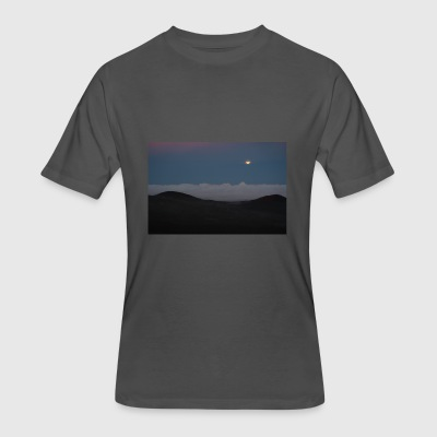 Sunset in Hawaii on top of the tallest mountain. - Men's 50/50 T-Shirt