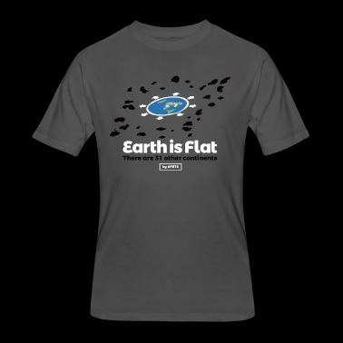 Flat Earth Design by #FETS - N°3 - Men's 50/50 T-Shirt