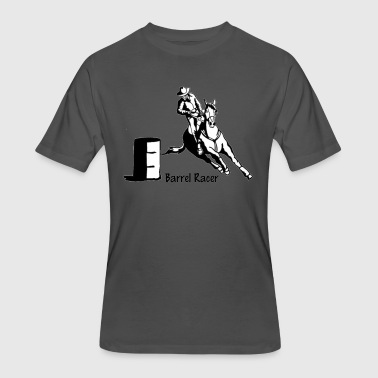 Barrel Racer - Men's 50/50 T-Shirt