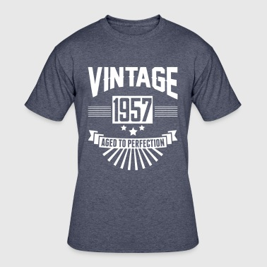 VINTAGE 1957 - Aged To Perfection - Men's 50/50 T-Shirt