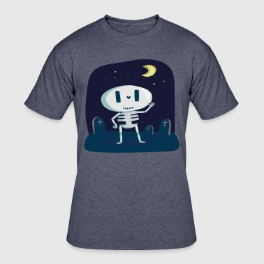 Friendly Guy Happy Skeleton | Friendly Skeleton! - Men's 50/50 T-Shirt