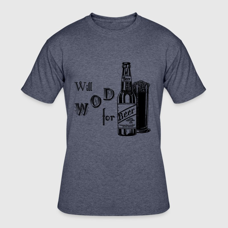 Will WOD For Beer - Men's 50/50 T-Shirt