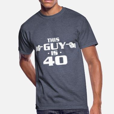 496579ba7a9ac Shop Mens 40th Birthday T-Shirts online | Spreadshirt