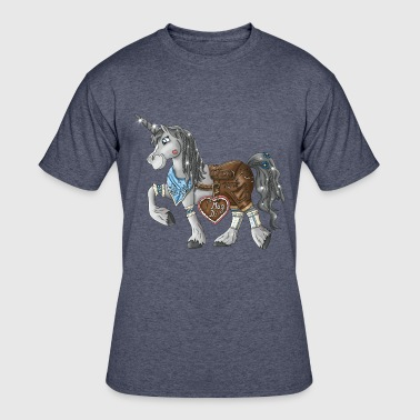 Credible Oktoberfest unicorn - Wies'n unicorn - Men's 50/50 T-Shirt