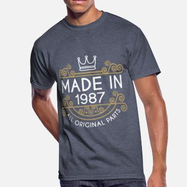 Made In 1987 All Original Parts Made In 1987 All Original Parts - Men's 50/50 T-Shirt