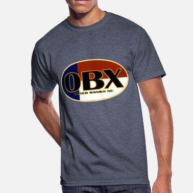 Outer OBX Outer Banks North Carolina Beaches - Men's 50/50 T-Shirt