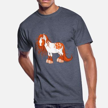 Love Appaloosa Horse Lovely Appaloosa - Horse - Heart - Gift - Fun - Men's 50/50 T-Shirt