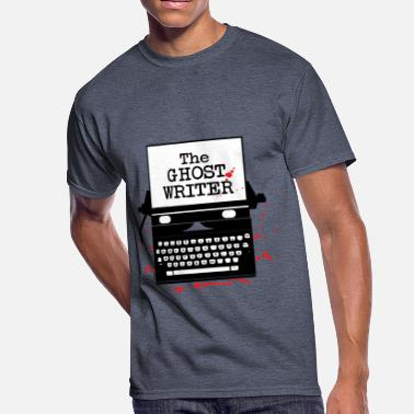 Ghost Writer Funny Ghosts - The ghost writer Halloween - Men's 50/50 T-Shirt