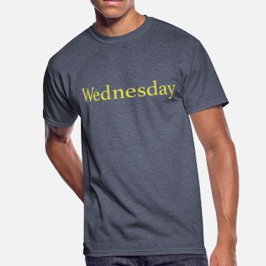 Week Wednesday - Day of the week - Men's 50/50 T-Shirt