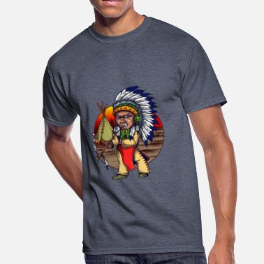 First Native The American Native - Men's 50/50 T-Shirt