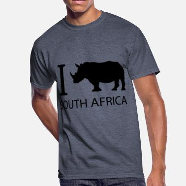 I Love Cape Town I love South Africa - Men's 50/50 T-Shirt