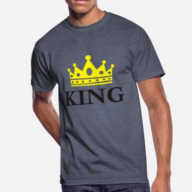 Crown Symbol King Crown Funny Symbol - Men's 50/50 T-Shirt