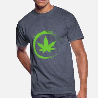 Cannabisleaf Cannabisleaf - Men's 50/50 T-Shirt