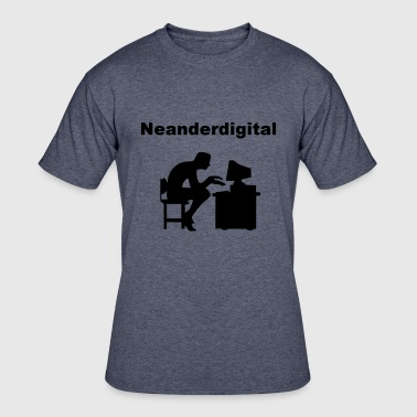 Neanderthal Evolution Neanderdigitaler - Men's 50/50 T-Shirt