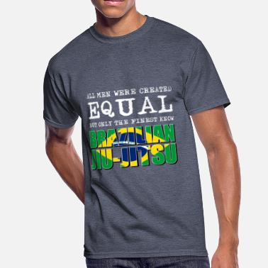 Brazilian Brazilian jiu jitsu design - Men's 50/50 T-Shirt