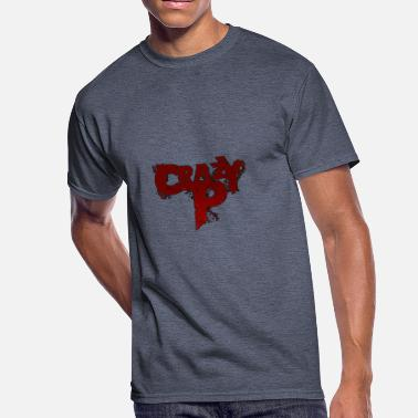 Crazy Logo Crazy P Logo Zombie Red - Men's 50/50 T-Shirt