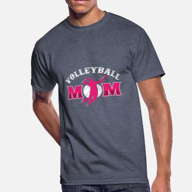 Team No Days Off Volleyball Mom - Men's 50/50 T-Shirt