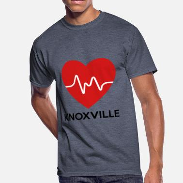 Knoxville Heart Knoxville - Men's 50/50 T-Shirt