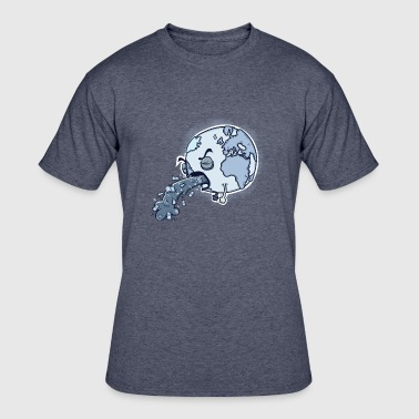 Sick and Sad Planet - Men's 50/50 T-Shirt