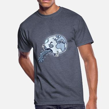 Anticapitalism Sick and Sad Planet - Men's 50/50 T-Shirt