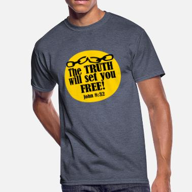 Bible Truth THE TRUTH (CHAINS) - Men's 50/50 T-Shirt