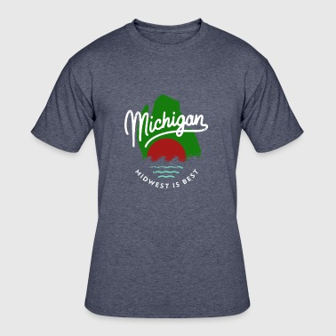 The Great Mitten State - Men's 50/50 T-Shirt