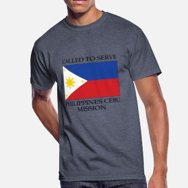 Cebu Philippines Cebu LDS Mission Called to Serve - Men's 50/50 T-Shirt