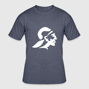 indian_soldier_side_looking_white - Men's 50/50 T-Shirt
