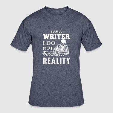 I Am A Writer Shirts - Men's 50/50 T-Shirt