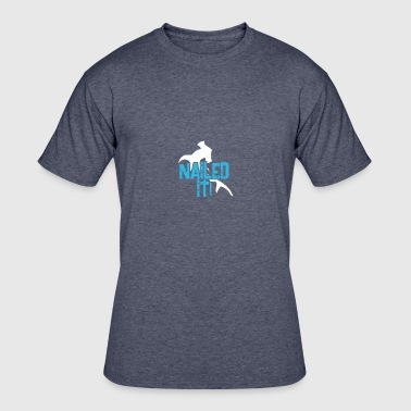 Hammerhead Shark Underwater Cool Hammerhead Shark Nailed It Gift - Men's 50/50 T-Shirt