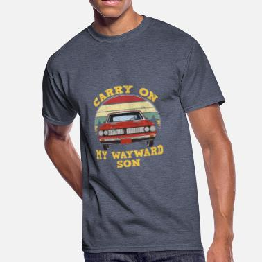 Carry on my Wayward Son TShirt Vintage - Men's 50/50 T-Shirt