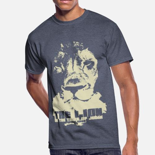 606c4d99ab7 Lion of Judah Men s 50 50 T-Shirt