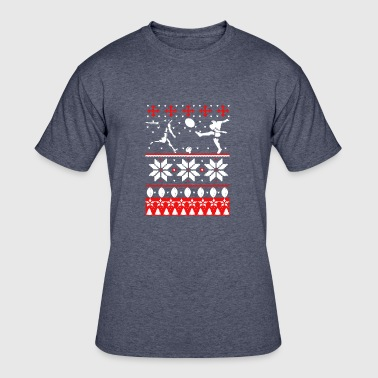 Rugby Christmas Rugby Christmas Shirt - Men's 50/50 T-Shirt