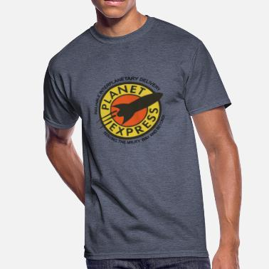 Planet Planet Express - Men's 50/50 T-Shirt