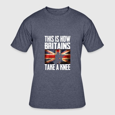 This is How britains Take a Knee Britain - Men's 50/50 T-Shirt