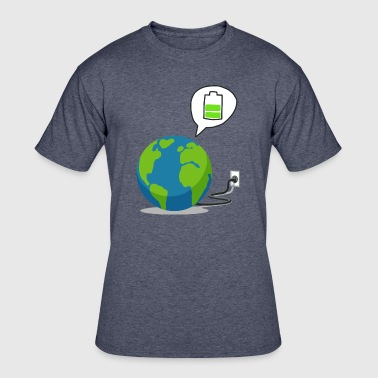 Recharge The World - Recharge The Earth - Men's 50/50 T-Shirt